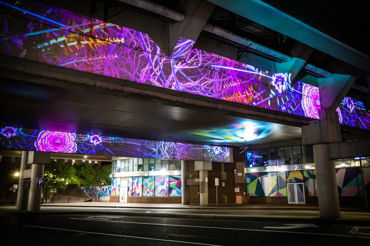 Lights Underpass Bulfinch