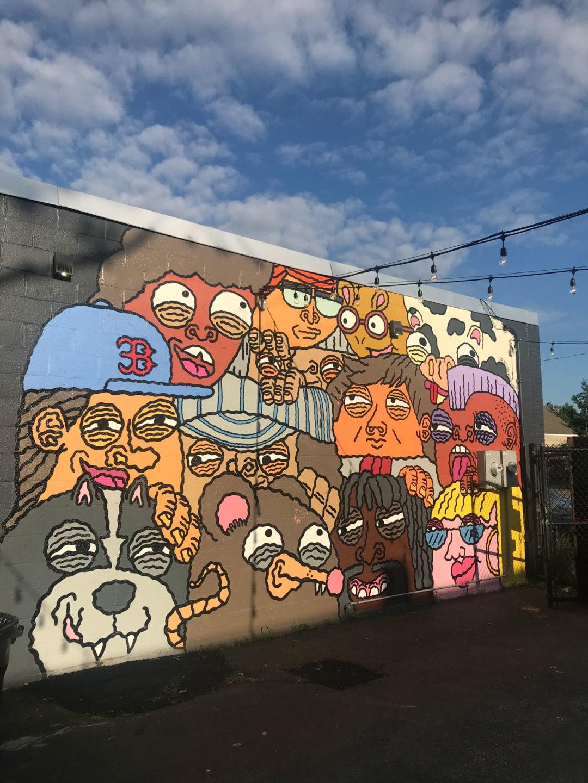 Pete Cosmos Mural