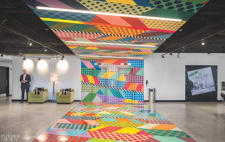 Dyer Brown and Isenberg Projects Transform a Boston Hotel With Vibrant Large-Scale Artworks