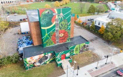 Muralist gives Allston-Brighton a big reminder: 'Nature is still out there