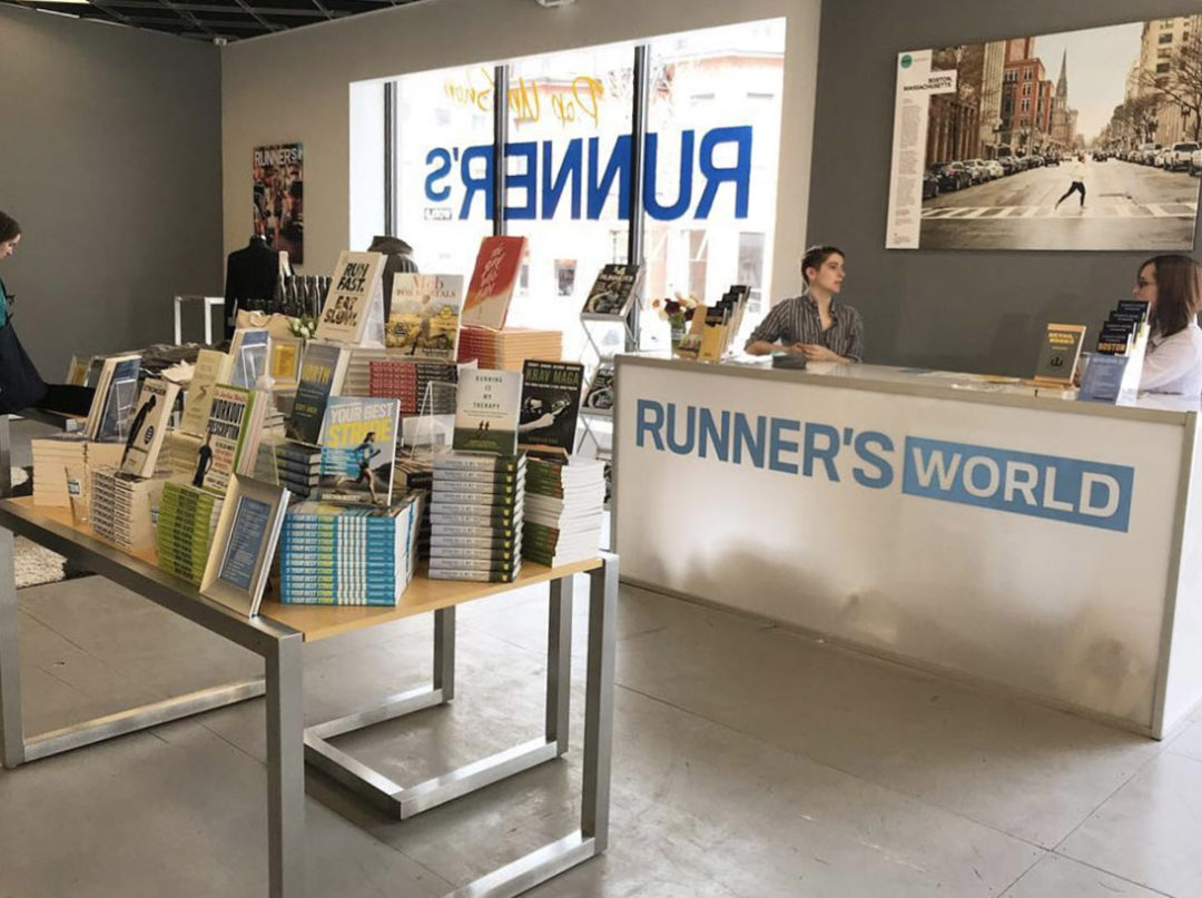 Runner's World Pop Up